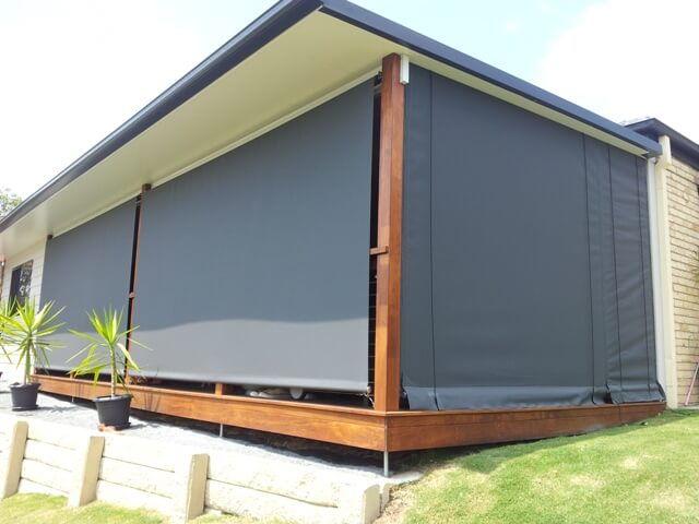 Rope Amp Pulley Awnings Gold Coast Bcs Awnings Amp Blinds